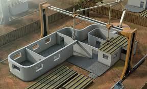 3d printer building house