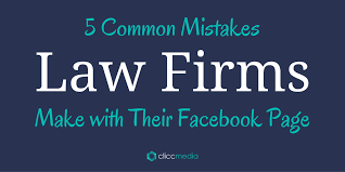 5 mistakes law firms make on facebook