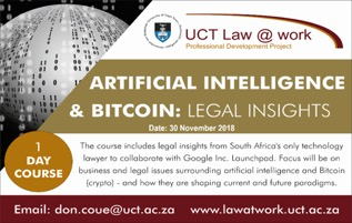 AI, Blockchain and the law