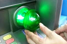 ATM card skimmer