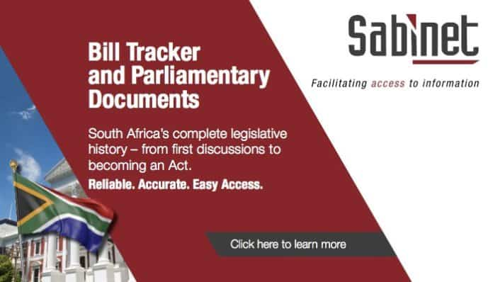 Bill Tracker and Parliamentary Documents
