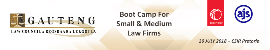 Boot Camp for Law firms 2018