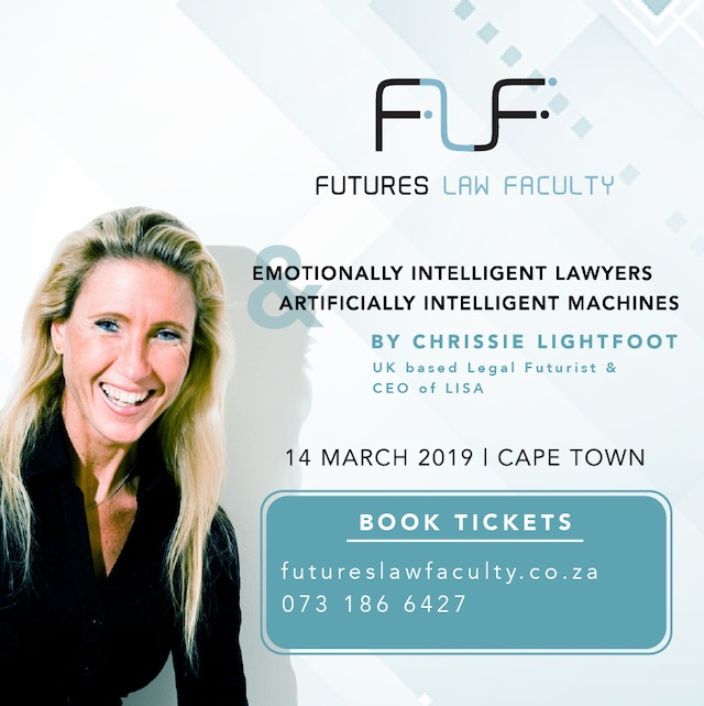 Chrissie Lightfoot Future of Law