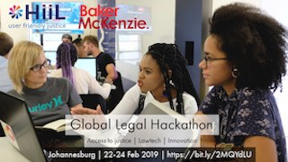 Global Legal Hackathon SA 2019