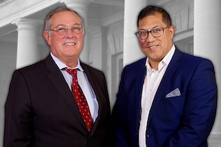 David Bekker and Walid Brown Co-Chairpersons Law Society of South Africa