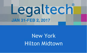 Round up of LegalTech New York 2017
