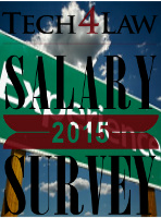 Legal Secretary 2015 Salaries by Experience