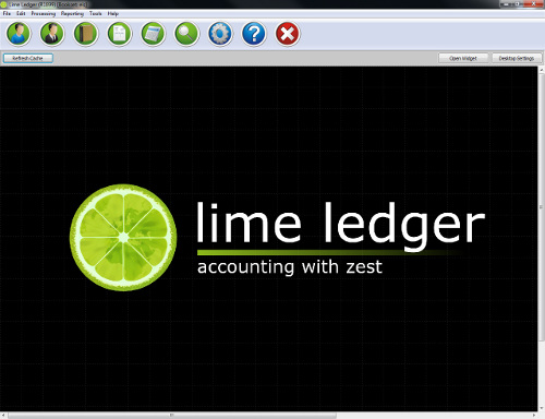 Lime Ledger welcome