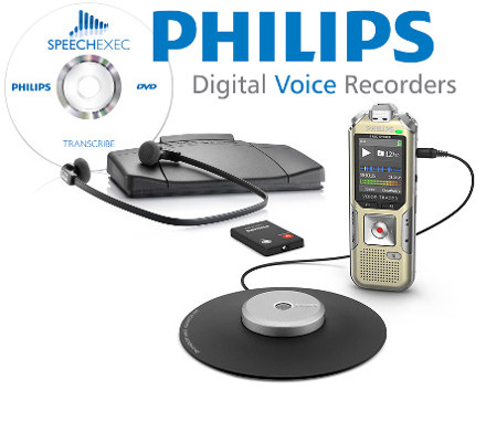 Philips DVT8000 and Speech exec special