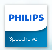 Philips SpeechLive dictation