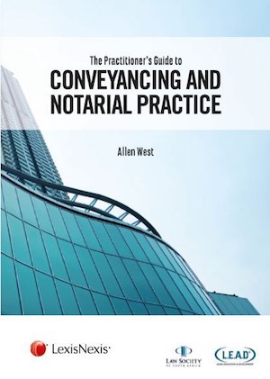 Guide to Conveyancing and Notarial Practice