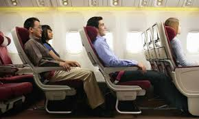 2 doctors and attorney seated together on flight