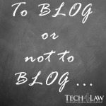 black board to blog or not to blog