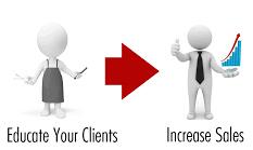 educate your clients