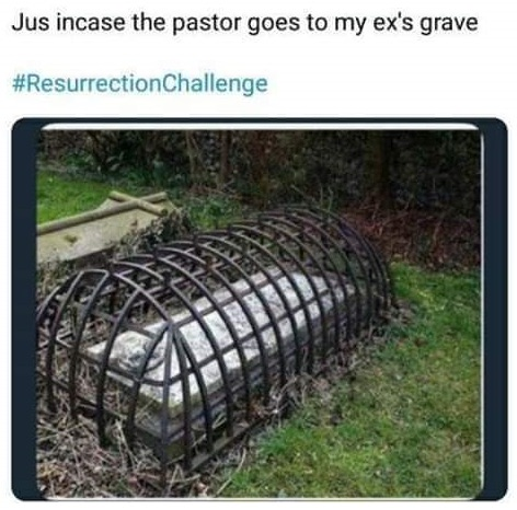 ex wife grave protection