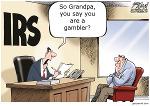 grandpa gambler and IRS
