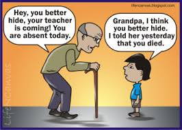 Grandpa humour