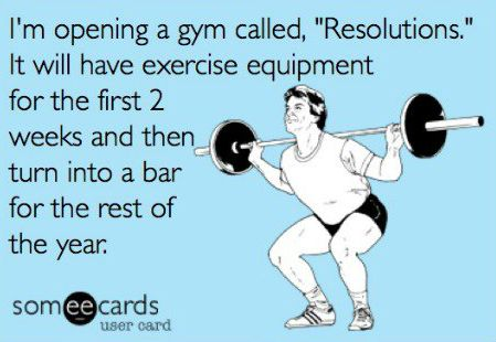 gym new year resolutions