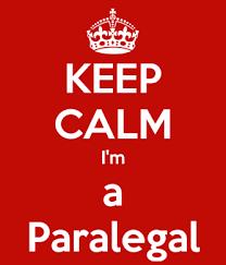 keep calm im a paralegal