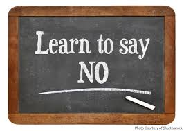 AJS Business tips for lawyers - learn to say no