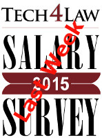 legal secretary salary survey 2015 last  week