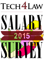 legal secretary salary survey 2015 per city