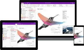 New onenote looks the same across all devices