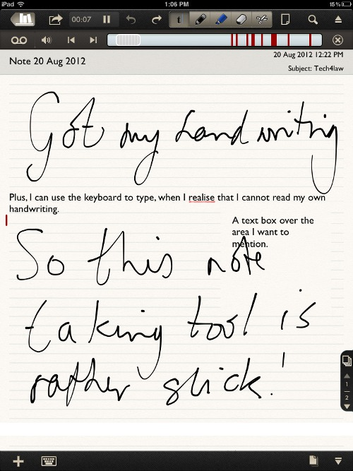 notability in action