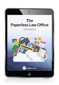 Get the free ebook on your paperless law firm
