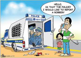Crime reporting in South Africa