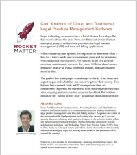 rocket matter white paper on cloud vs local costs
