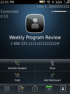 weekly program review