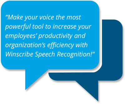 winscribe speech