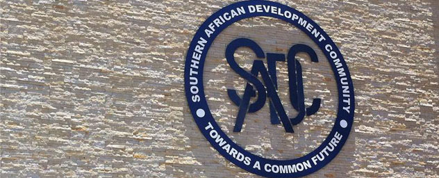 SADC sign on wall
