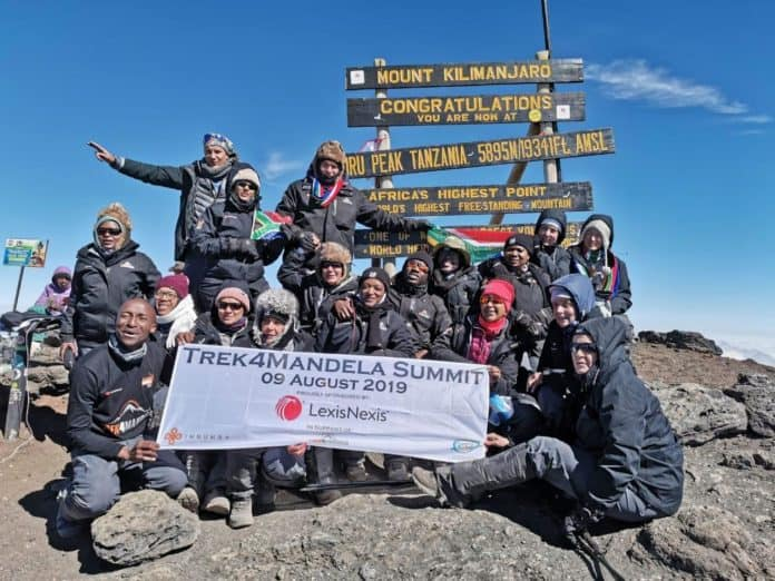 Summit Trek4Mandela 2019