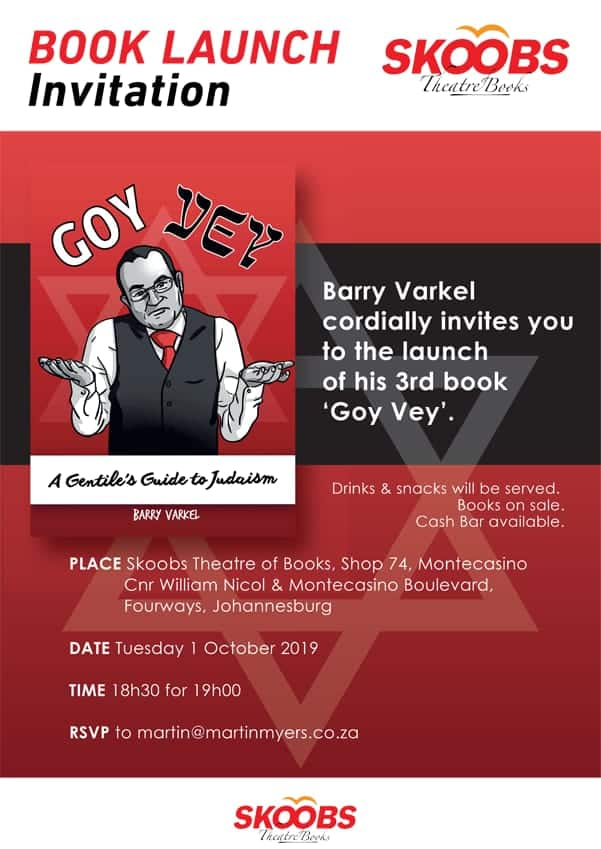 Goy Vey Book Launch