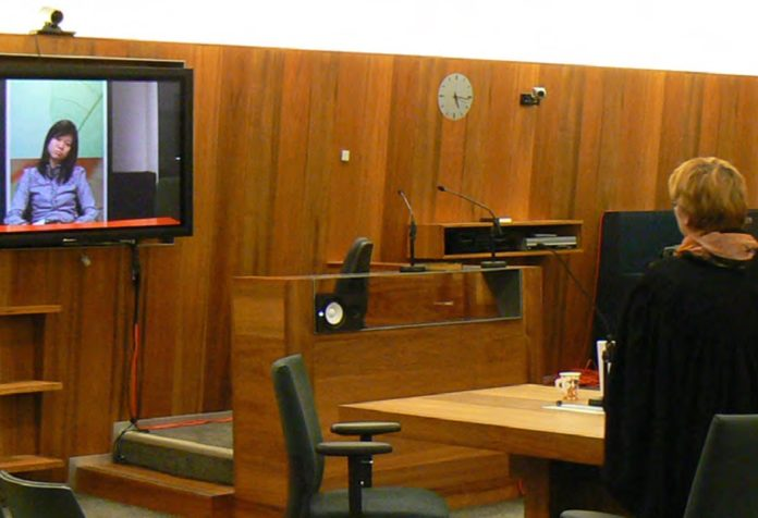 Video-courtroom