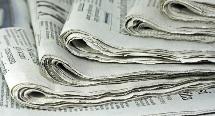 Newspapers and Estate Notices