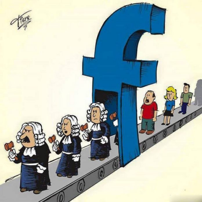 People to Judges in Facebook