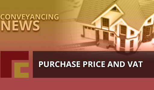 Purchase price and vat