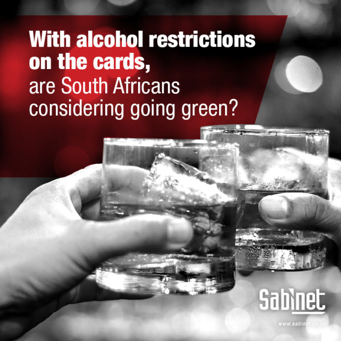 Cannabis February 2021 Alcohol Restrictions