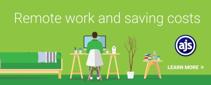 Remote work and cost savings