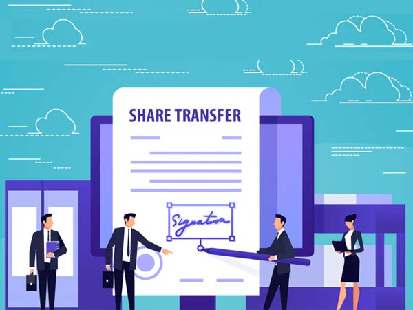 transfer of shares in CC conveyancing