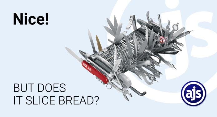AJS how to cut bread