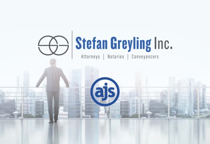 AJS and Stefan Greyling