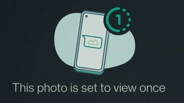 WhatsApp View Once Feature